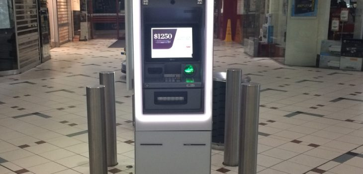 Protecting bank and ATMs with crim safe bollards