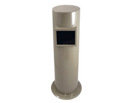 Security camera bollards by Crimsafe Bollards